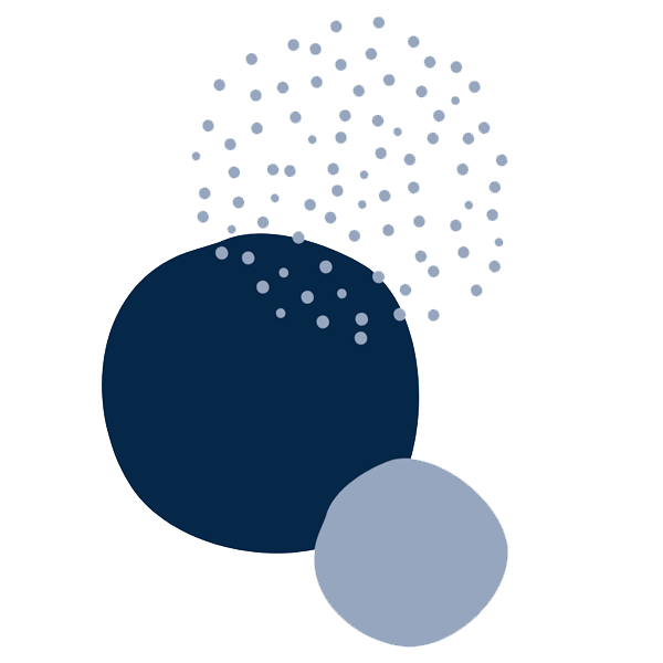blue circle graphics