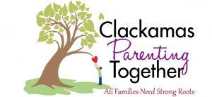 Clackamas Parenting Together logo