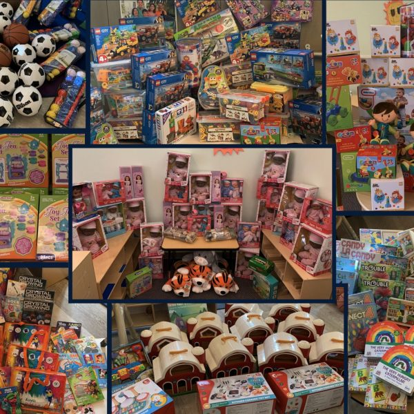 Toy drive toys from 2020