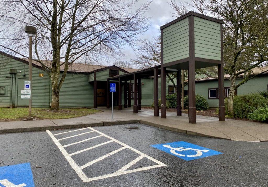 Clackamas Community College family center