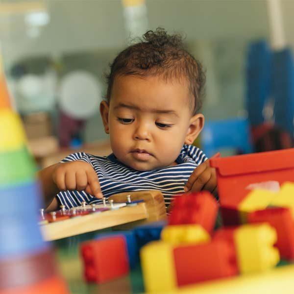 toddler in preschool